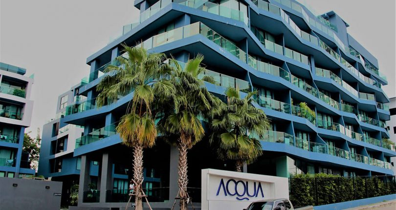 Acqua Jomtien – studio 35sqm