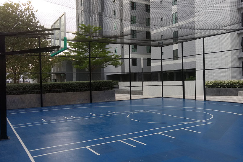 basketball court the base pattaya