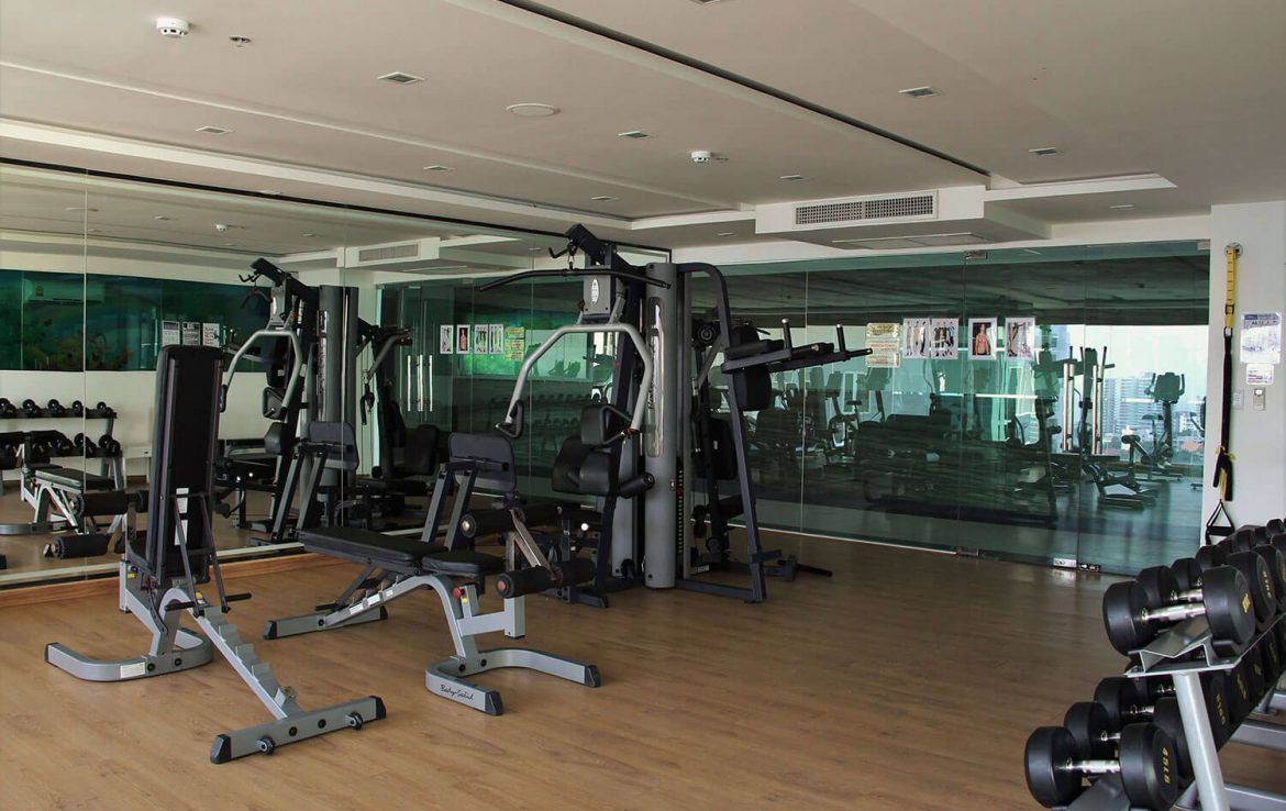 Fitness Room Cosy Beach View