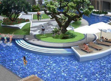 Dusit Grand Park pool Jomtien