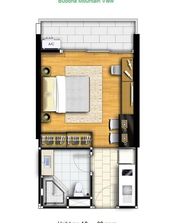 Дизайн однокомнатной квартиры 30 квм планировка